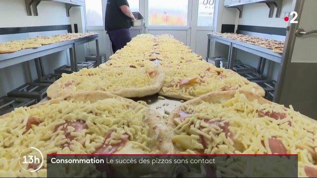 Innovation : un pizzaïolo de l'Oise investit dans des distributeurs à pizzas