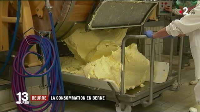 Alimentation : les Français consomment moins de beurre