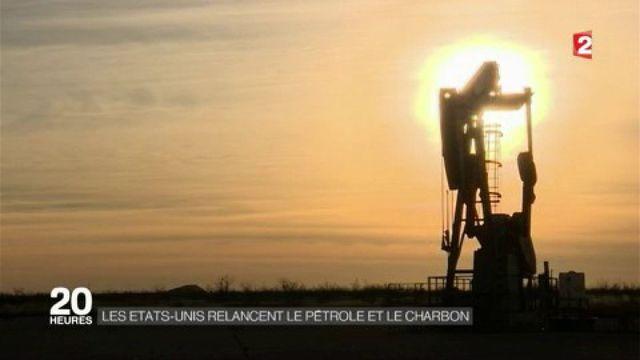 Les États-Unis relancent le pétrole et le charbon