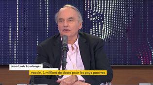 Jean-Louis Bourlanges, sur franceinfo, le 12 juin 2021. (FRANCEINFO / RADIOFRANCE)