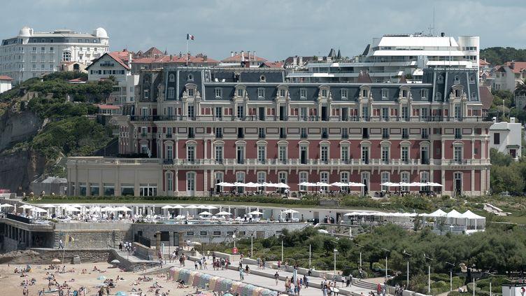 La ville de Biarritz (Pyrénées-Atlantiques), le 13 août 2019 (IROZ GAIZKA / AFP)