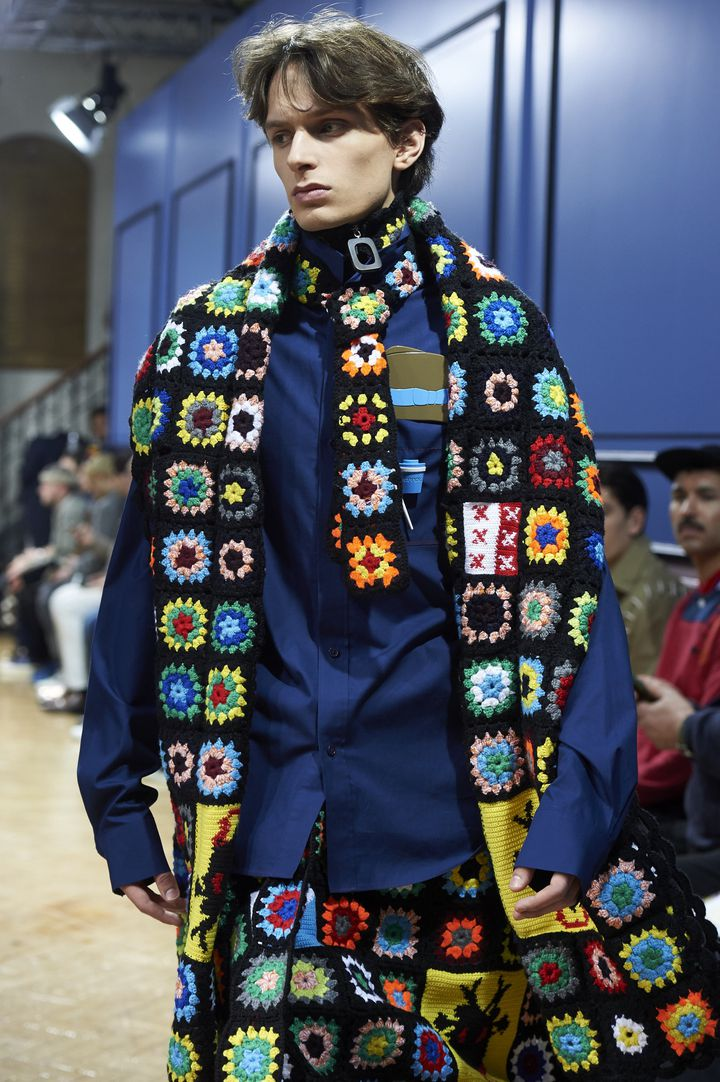 JW Anderson ah 2017-18 à la London Fashion week, janvier 2017...  (NIKLAS HALLE'N / AFP)