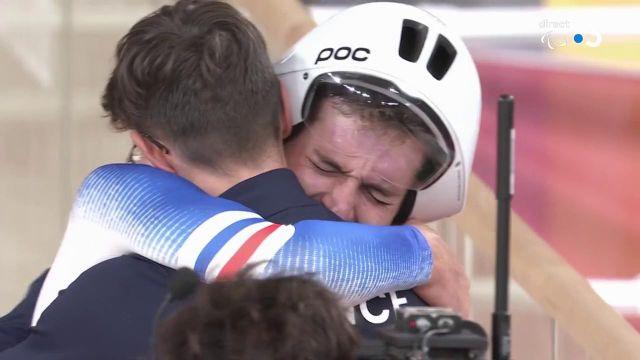 EXCEPTIONNEL ! Dorian Foulon glane la 2e médaille d'or pour la délégation française.Au terme d'une course remarquable, le Français est récompensé de ses efforts.
