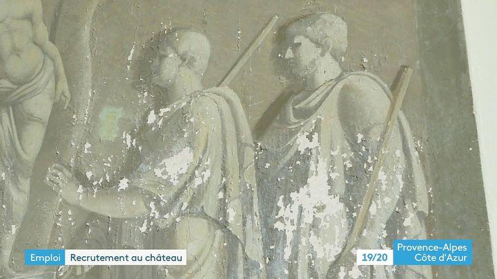 Les fresques du peintre provençal Marius Granet (France 3 PACA)