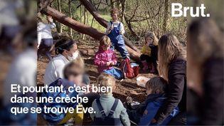 VIDEO. À Genève, une crèche en pleine forêt (BRUT)