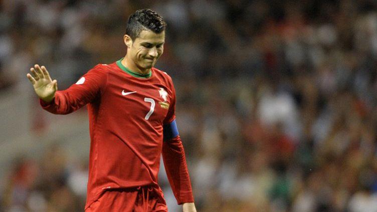 Le capitaine du Portugal, Cristiano Ronaldo