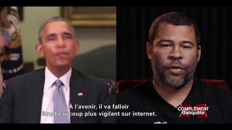 """Quand Obama insulte Trump en vidéo : """"Complément d'enquête"""" à l'ère des """"deep fakes"""" (COMPLÉMENT D'ENQUÊTE/FRANCE 2)"""