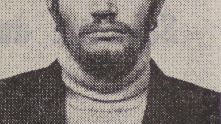Le prisonnier Michel Cardon, à la fin des années 1970. (MAXPPP)