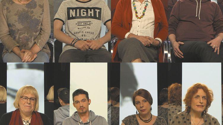 """Montage tiré du documentaire réalisé par Eric Guéret, intitulé """"Trans, c'est mon genre"""", diffusé dans """"Infrarouge"""" sur France 2. (© Production - FTV)"""