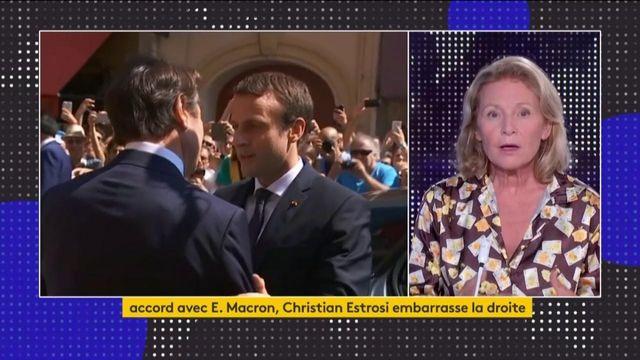 Estrosi embarrasse les Républicains en voulant un accord avec Macron