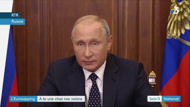 Eurozapping : Poutine fait un pas en arrière, un trésor dans une épave en Croatie