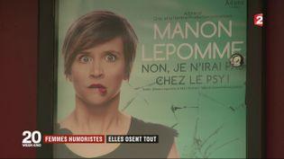 Les femmes humoristes prennent le devant de la scène (France 2)