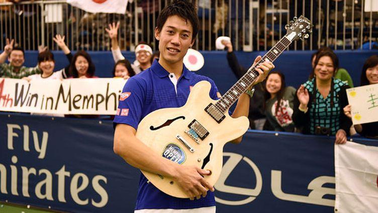 Le Japonais Kei Nishikori aime bien arpenter la route de Memphis