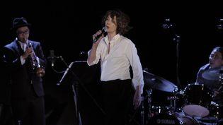 Jane Birkin en concert à Madrid le18/05/12  (EFE/SIPA)