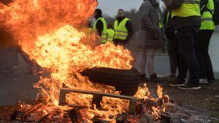 Des milliers de citoyens ont participé aux manifestations du 17 novembre en Loire-Atlantique, notamment à Nantes, comme ici. (ESTELLE RUIZ / NURPHOTO/AFP)
