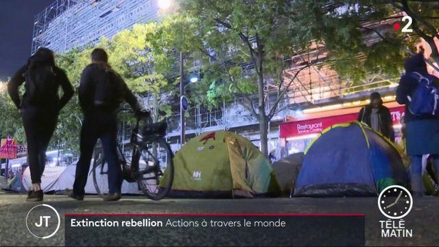 Extinction rebellion : des actions à travers le monde pour le climat