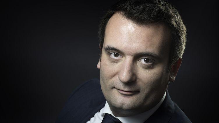 Florian Philippot a annoncé son départ du FN jeudi 21 septembre, sur France 2. (JOEL SAGET / AFP)