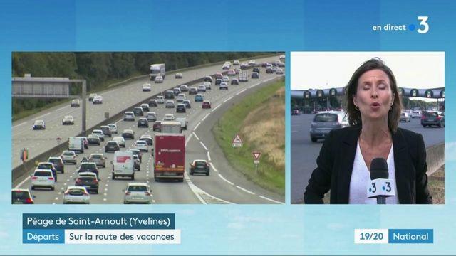 Départs en vacances : circulation très chargée sur les routes
