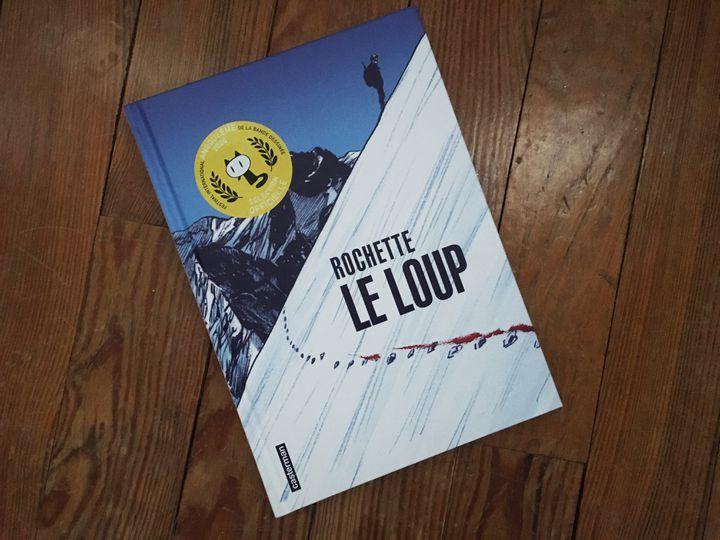 """Couverture de """"Le loup"""", de Jean-Marc Rochette (CASTERMAN)"""