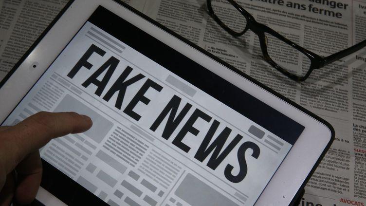 Illustration de fausses nouvelles. (MAXPPP)