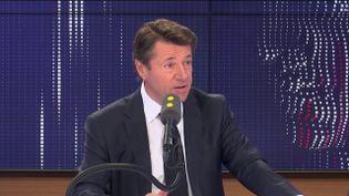 Christian Estrosi, le maire LR de Nice, était l'invité de franceinfo le 12 novembre 2019 (FRANCEINFO / RADIO FRANCE)