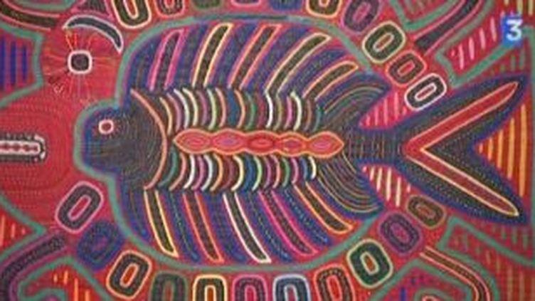 Les indiennes Kuna et leur tableaux de tissus s'exposent au Palais de l'Europe  (Culturebox)