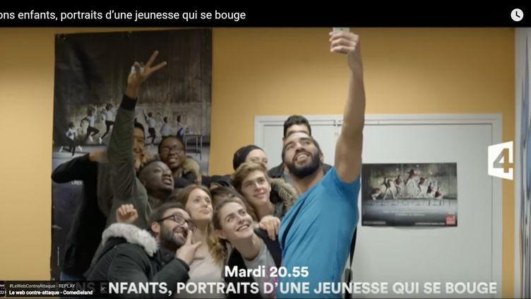 Image extraite de la bande annonce du documentaireAllons enfants! portrait d'une jeunesse qui se bouge,diffusé mardi soir sur France 4. (CAPTURE D'ÉCRAN YOUTUBE)