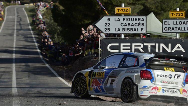 Sébastien Ogier (Rallye de Catalogne) (JOSEP LAGO / AFP)