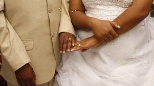 Mariage d'un couple en Ethiopie. Dans les campagnes,un homme qui ne peut pas payer ladotkidnappe et viole la femme, sachant que personne n'en voudra, puis il l'épouse. (PHILIPPE LISSAC / GODONG / PHOTONONSTOP)
