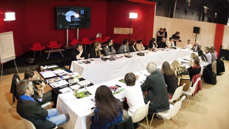 Délibérations du jury de téléspectateurs du Prix Essai de France Télévisions en 2012  (Vincent PANCOL / FTV)