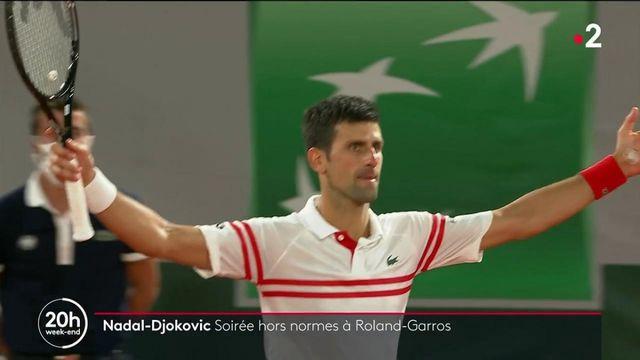 Nadal-Djokovic : un match qui restera dans les annales de Roland-Garros