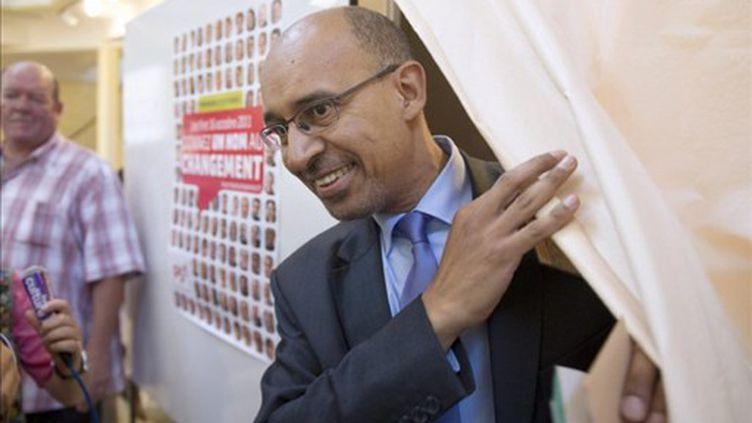 Harlem Désir, premier secrétaire par intérim du  Parti socialiste (AFP/BERTRAND LANGLOIS)