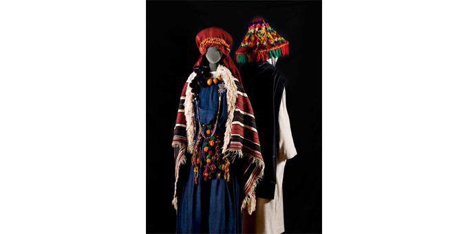 Aït Atta, Sud-est et homme Zemmour, Moyen Atlas  (Musée Berbère)