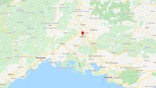 Avignon,dans le sud-est de la France. (GOOGLE MAPS)