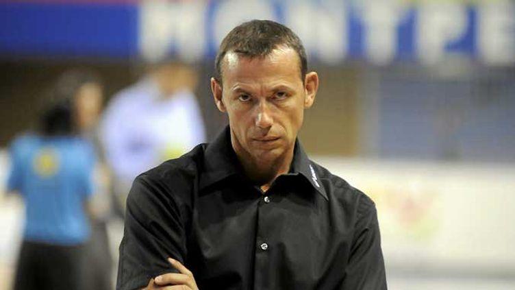 L'entraîneur de Montpellier Patrice Canayer