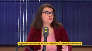 Cécile Duflot, directrice d'Oxfam France, était l'invitée de franceinfo jeudi 26 décembre 2019. (FRANCEINFO)