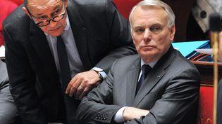 Le Premier ministre, Jean-Marc Ayrault, le 27 mars 2013 à l'Assemblée nationale, àParis. (PIERRE ANDRIEU / AFP)