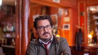 David Dufresne, journaliste indépendant, écrivain et documentariste, le 9 octobre 2019 à Paris. (ULYSSE GUTTMANN-FAURE)
