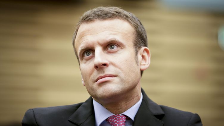 Emmanuel Macron, le 20 octobre 2016, lors d'un colloque à l'Assemblée nationale, à Paris. (MAXPPP)