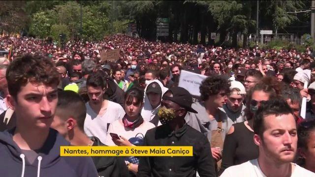 Un an après sa mort, Steve Maia Caniço honoré lors d'une marche à Nantes