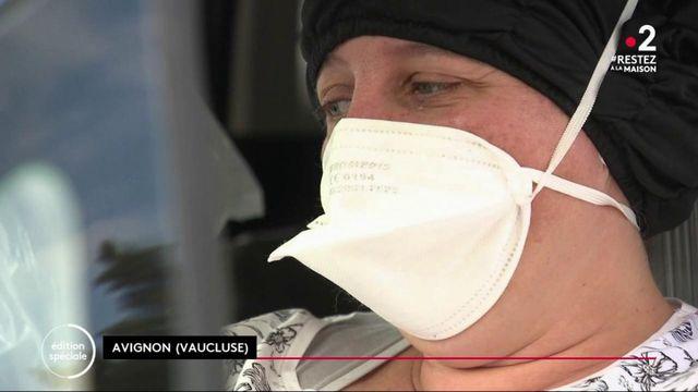 """Coronavirus: une brigade d'infirmières """"pour que tout le monde n'aille pas en première ligne en même temps"""""""