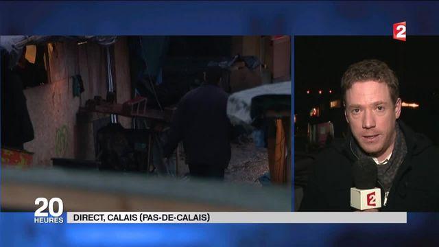 Expulsion à Calais : les migrants refusent de partir