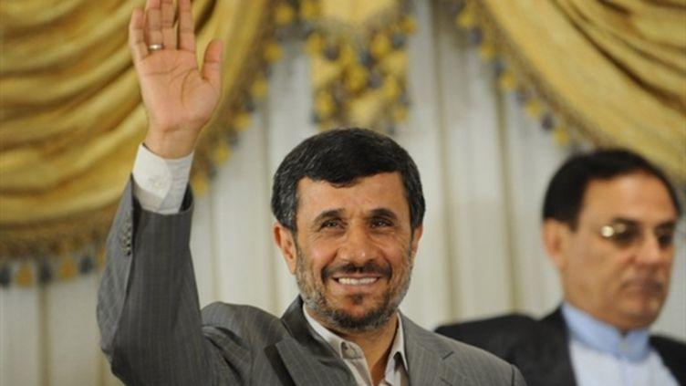 Mahmoud Ahmadinejad, le 07/06/10 (AFP Bulent Kilic)