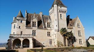 Le château des Milandes à Castelnaud la Chapelle (Dordogne), ancienne résidence de Joséphine Baker, le 23 février 2020. (FLAVIEN GROYER / RADIO FRANCE)
