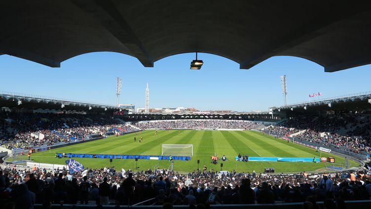 Le stade Chaban-Delmas à Bordeaux, lors d'un match du Top14, le 5 avril 2015. (NICOLAS TUCAT / AFP)