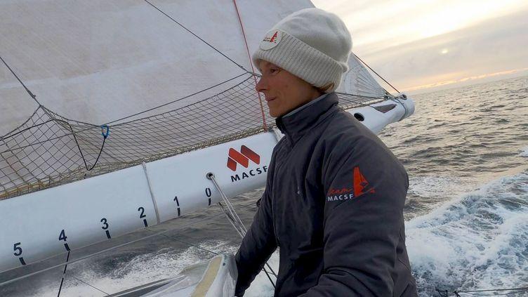 La navigatrice Isabelle Joschke (ISABELLE JOSCHKE / ISABELLE JOSCHKE)