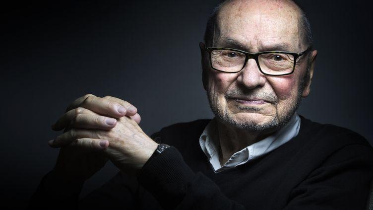Claude Régy en novembre 2015. (JOEL SAGET / AFP)