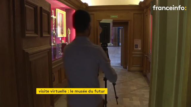 Chaque détail du Palais du Tau est enregistré en haute-définition grâce à une caméra 360 degrés.