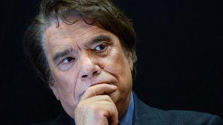 """L'homme d'affaires Bernard Tapie, propriétaire du journal """"La Provence"""", le 15 novembre 2013 à Marseille (Bouches-du-Rhône). (BORIS HORVAT / AFP)"""