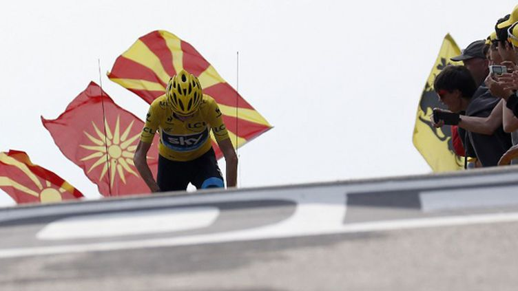 Christopher Froome (JEFF PACHOUD / AFP)